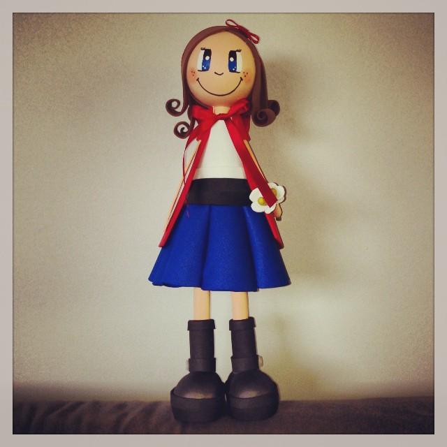 La caputxeta vermella que ha fet l'Alba #instagram