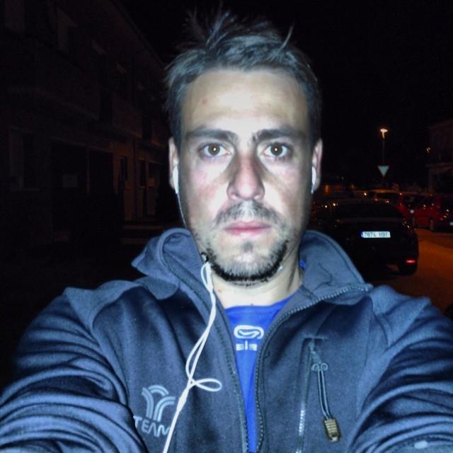 M'encanta sortir a córrer en aquests vespres de tardor on ja fa fred, però no massa